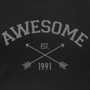 Awesome Est 1991 T-Shirts - Women's Scoop Neck T-Shirt