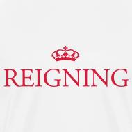 Design ~ Gin O'Clock Reigning Men's T-Shirt