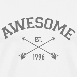 Awesome Est 1996 T-skjorter - Premium T-skjorte for menn