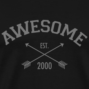 Awesome Est 2000 T-shirts - Herre premium T-shirt