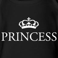 Design ~ Gin O'Clock Princess Baby Vest