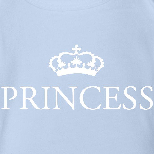 Gin O'Clock Princess Baby Vest