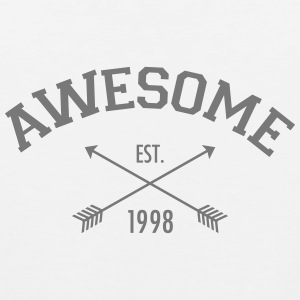 Awesome Est 1998 Tank Tops - Tank top premium hombre