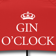 Design ~ Gin O'Clock Small Umbrella