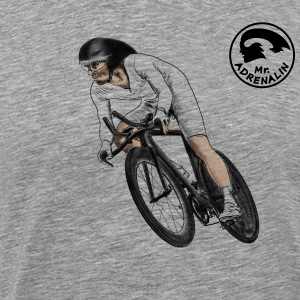 racing cyclists T-skjorter - Premium T-skjorte for menn