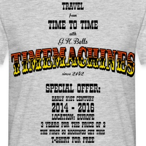 Timemachine for Bright Shirts T-Shirts - Men's T-Shirt