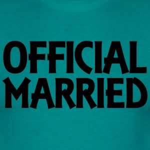Official married T-skjorter - T-skjorte for menn