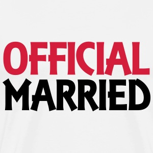 Official married T-Shirts - Men's Premium T-Shirt