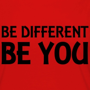 Be different - be you Long Sleeve Shirts - Women's Premium Longsleeve Shirt