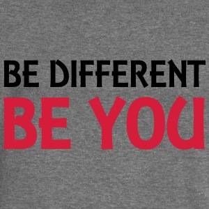 Be different - be you Hoodies & Sweatshirts - Women's Boat Neck Long Sleeve Top