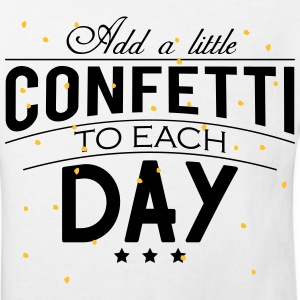 Add a little Confetti to each day Tee shirts - T-shirt Bio Enfant