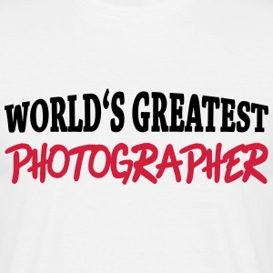 World's greatest photographer T-shirts - T-shirt herr