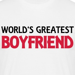 World's greatest boyfriend T-shirts - T-shirt herr
