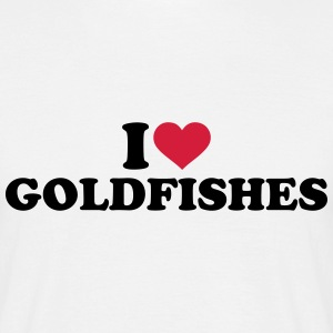 I love goldfishes T-Shirts - Männer T-Shirt