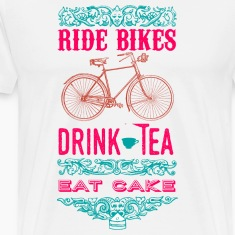 Ride bikes, drink tea - Men's T