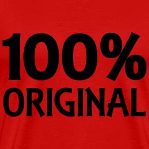 100% Original T-Shirts - Men's Premium T-Shirt