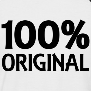 100% Original T-Shirts - Men's Baseball T-Shirt