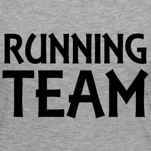 Running Team Manches longues - T-shirt manches longues Premium Femme