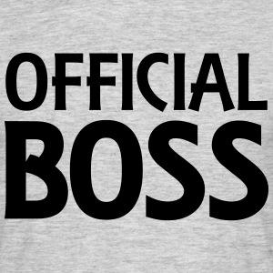 Official Boss T-Shirts - Men's T-Shirt