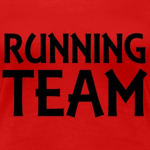 Running Team T-Shirts - Women's Premium T-Shirt