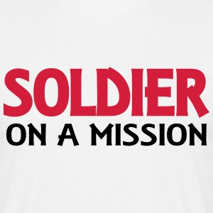 Soldier on a mission T-shirts - Herre-T-shirt