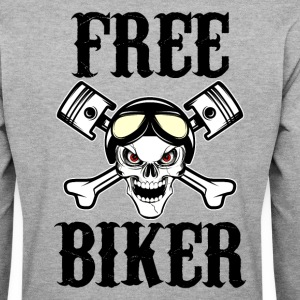 free biker 02 Sweat-shirts - Sweat-shirt Homme