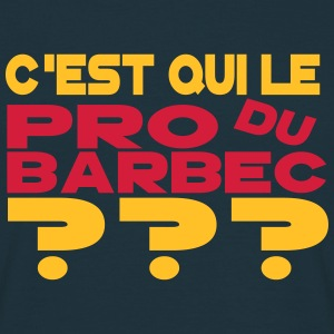 pro du barbec Tee shirts - T-shirt Homme