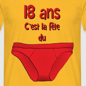 18ans Tee shirts - T-shirt Homme