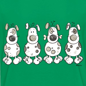 Happy Dogs T-Shirts - Kinder Premium T-Shirt
