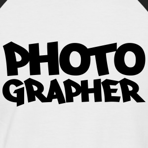 Photographer T-Shirts - Men's Baseball T-Shirt