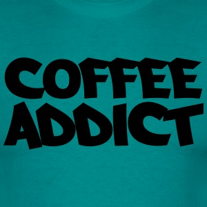 Coffee Addict T-Shirts - Männer T-Shirt