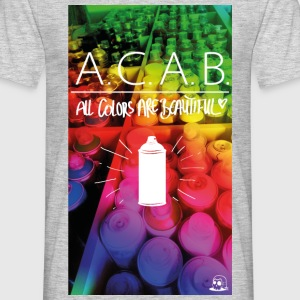 All colors are beautiful T-Shirts - Männer T-Shirt