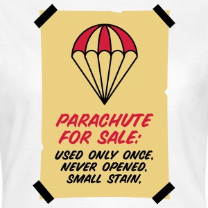 Parachute for sale. Only once opened! T-Shirts - Women's T-Shirt