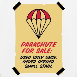 Parachute for sale. Only once opened! Bags & Backpacks - EarthPositive Tote Bag