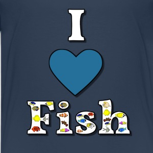 I love fish 1 Shirts - Teenager Premium T-shirt