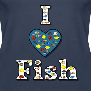 I love fish 2 Top - Canotta premium da donna