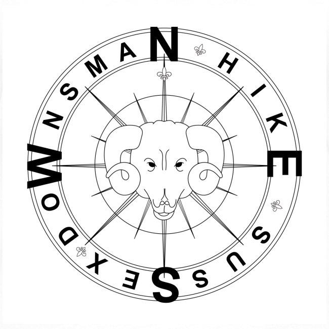 Downsman Logo Ladies Contrast T