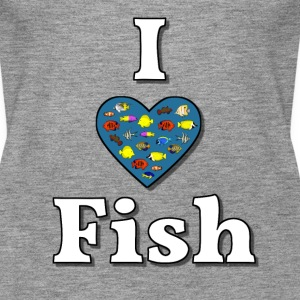 I love fish 3 Top - Canotta premium da donna