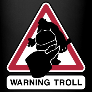 warning troll Tazze & Accessori - Tazza monocolore