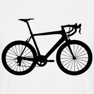 road bike T-Shirts - Men's T-Shirt