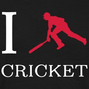 I love cricket T-shirts - Mannen T-shirt