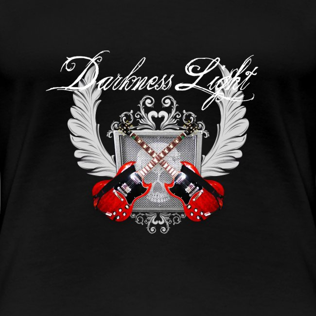 Darkness Light Women Premium T-shirt,  Living with the Danger album