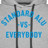 Motiv ~ Hoodie Alu vs Everybody/men