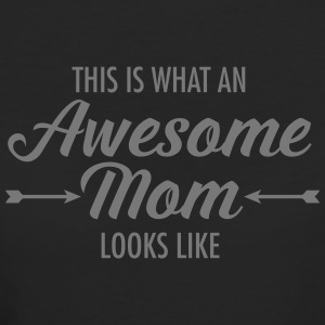 This Is What An Awesome Mom Looks Like T-shirts - Vrouwen Bio-T-shirt