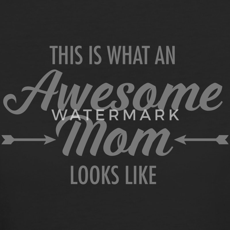 This Is What An Awesome Mom Looks Like T-Shirts - Women's Organic T-shirt