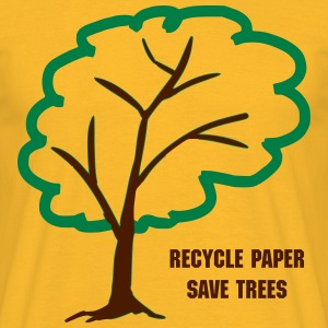 Save trees eco t-shirt - Men's T-Shirt