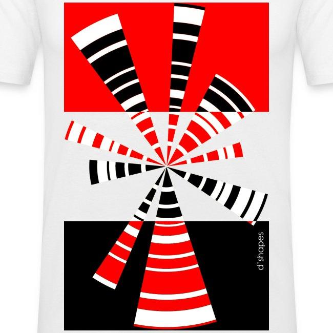Radio Red - Man Slim T-shirt