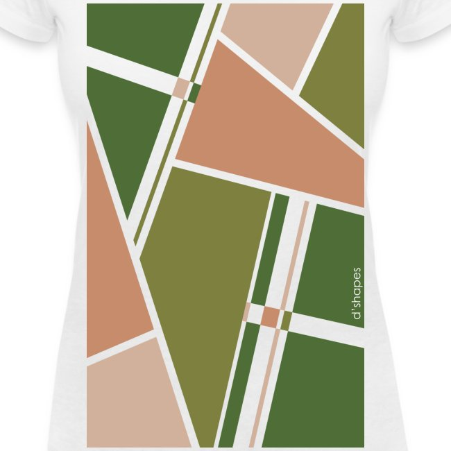 Blocks Treetop - Woman V T-shirt