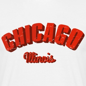 Chicago Illinois III retro T-Shirts - Männer T-Shirt