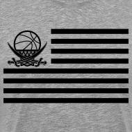Motiv ~ Flaggen-Shirt (grau Version 2)